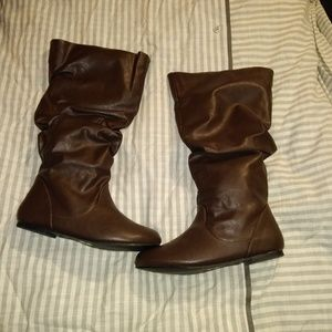"""Journee Collection """"Jayne"""" Slouch Boots"""
